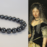 Black Pearl 17th Century Necklace