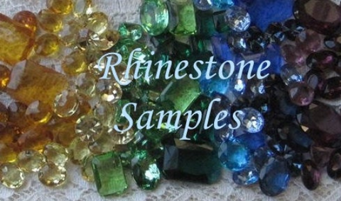 Rhinestone Samples