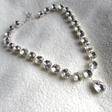 Queen Victoria's Diamond Collet Necklace with Teardrop