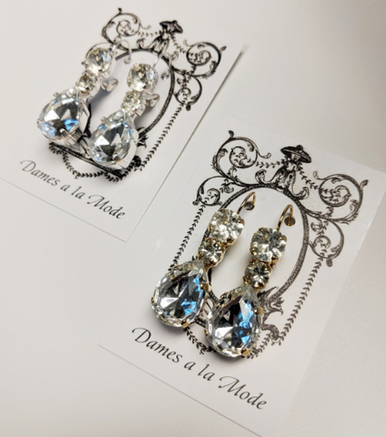 Queen Victoria's Triple-Drop earrings