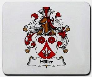 Holler coat of arms mouse pad