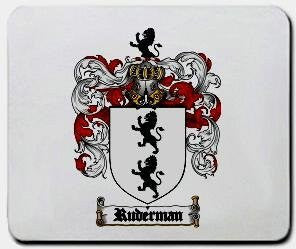 Ruderman coat of arms mouse pad