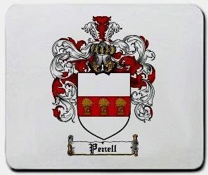 Penell coat of arms mouse pad