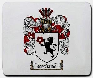 Gesualdo coat of arms mouse pad