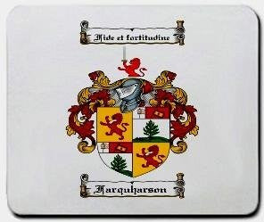 Farquharson coat of arms mouse pad