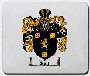 Aliff coat of arms mouse pad