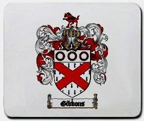 Gibbons coat of arms mouse pad
