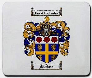 Diakne coat of arms mouse pad