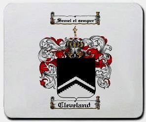 Cleveland coat of arms mouse pad