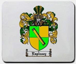 Espiney coat of arms mouse pad