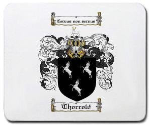 Thorrold coat of arms mouse pad