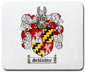 Schlachter coat of arms mouse pad