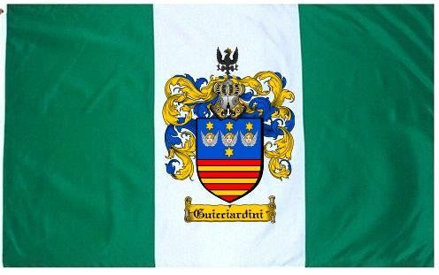 Guicciardini family crest coat of arms flag