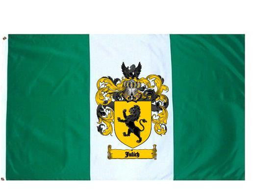 Julich family crest coat of arms flag