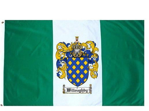 Willoughby family crest coat of arms flag
