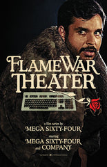 Flame War Theater Poster