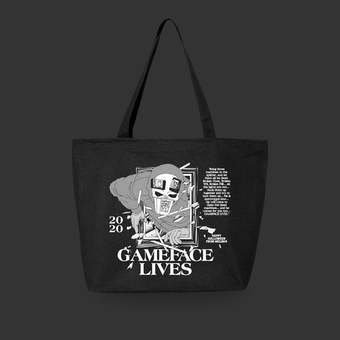 Gameface Lives Tote Bag