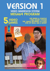 The Mega64 Version 1 GAME COVER Poster
