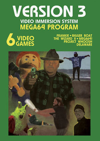 The Mega64 Version 3 GAME COVER Poster