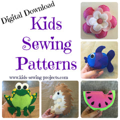 Felt Hand Sewing Patterns