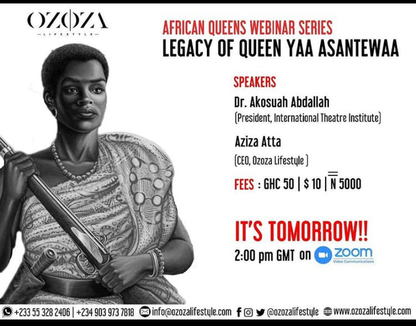 THE LEGACY OF QUEEN YAA ASANTEWAA