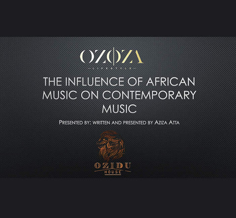 The Influence of African Music on Contemporary Global Music