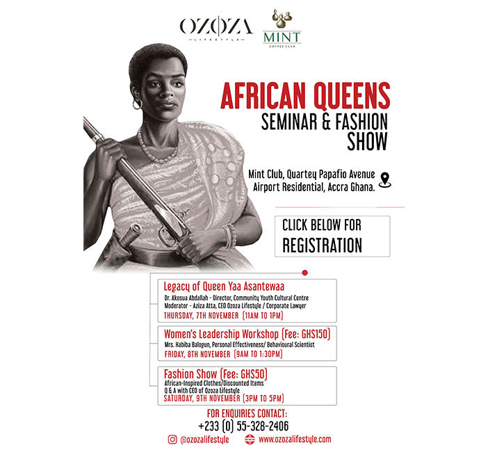 African Queens Seminar & Fashion Show