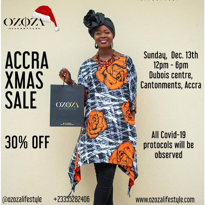 Accra Christmas Sale - 30% Off All Items
