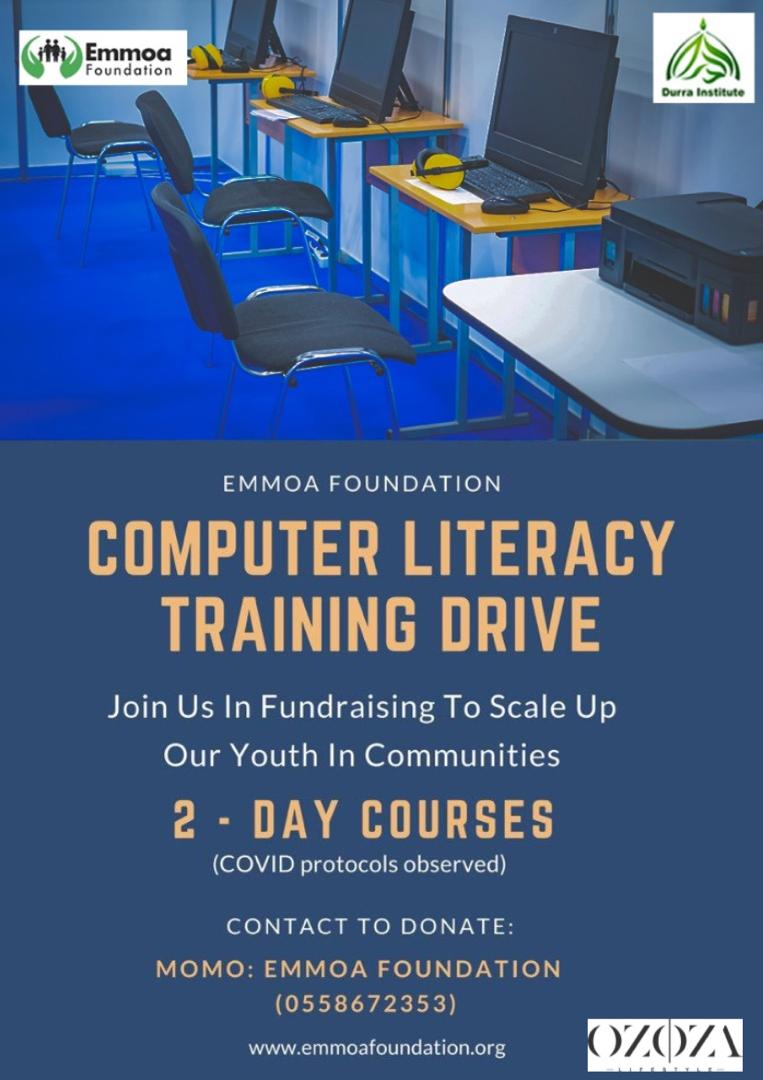 OZOZA LIFESTYLE SUPPORTS EMMOA FOUNDATION'S COMPUTER LITERARY DRIVE