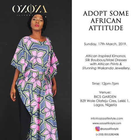Upcoming Event: Adopt Some African Attitude