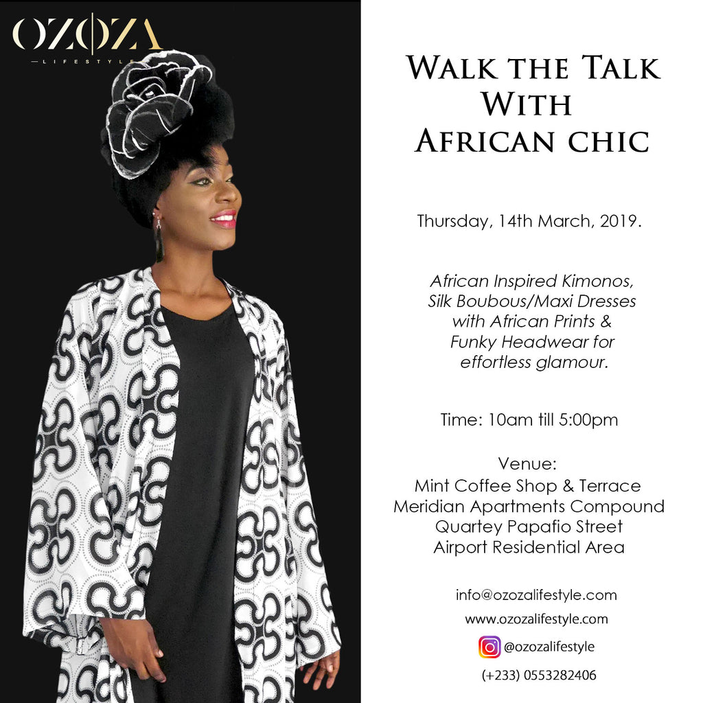 Past Event: Walk The Talk With African Chic