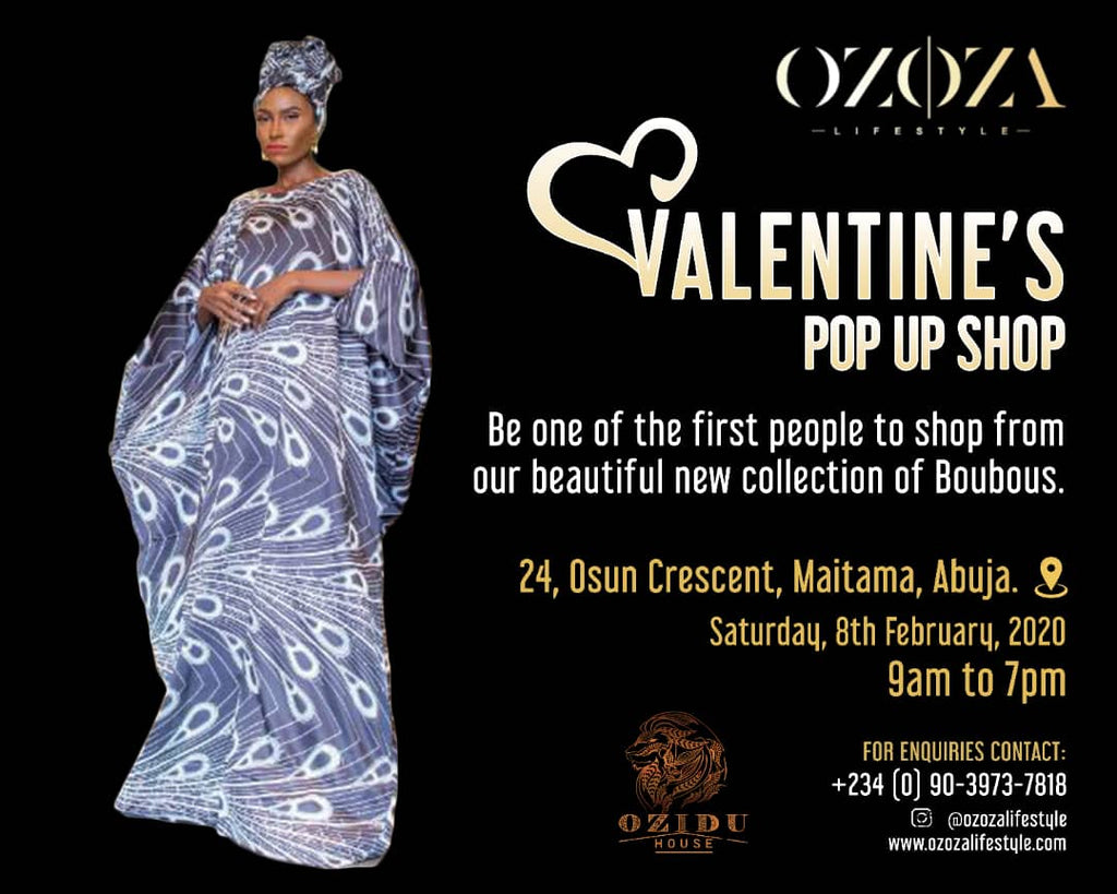 Upcoming Event: Valentine's Pop Up Shop