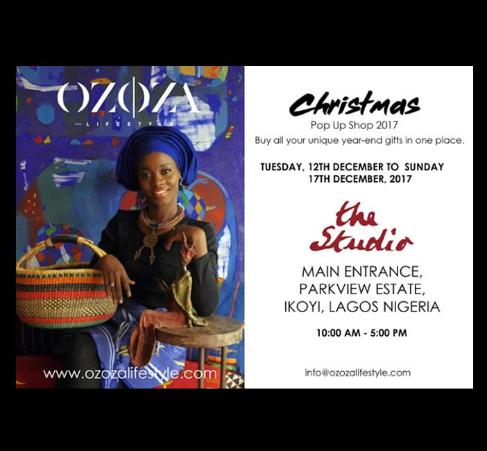 Past Event: Polly Alakija Studios Pop Up Shop