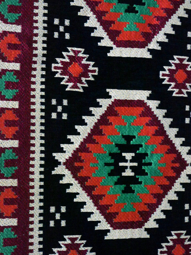 Beautiful Hand-Woven North African Multi-coloured Runner