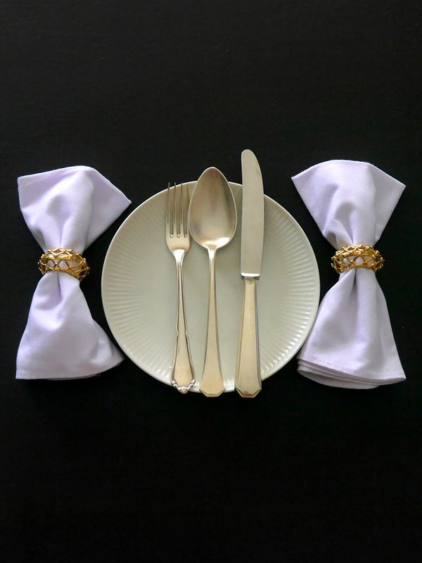 Set of Six Napkin Rings