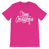 Strong and Courageous (BC) -  WearYourPraise Apparel