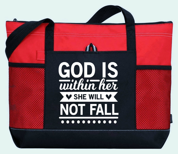 God is Within Her -  WearYourPraise Apparel