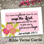 Bible Verse Cards -  WearYourPraise Apparel