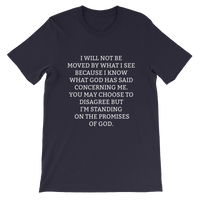 Standing on the promises of God -  WearYourPraise Apparel