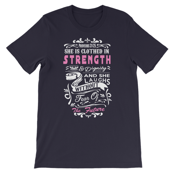Proverbs 31:25 -  WearYourPraise Apparel