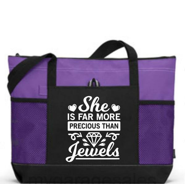 More Precious than Jewels -  WearYourPraise Apparel