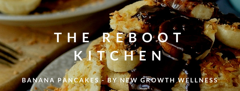 The Reboot Kitchen: Banana Pancakes (gluten-free, dairy-free, sugar-free)