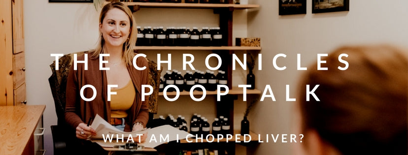 The Chronicles of PoopTalk: What am I...Chopped Liver?!