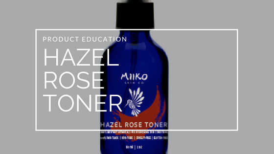 Meet our latest product: Hazel Rose Toner