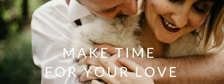 embracing couple unclose engagement - make time for your love