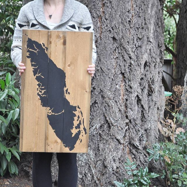 vancouver island painted sign decor by nature