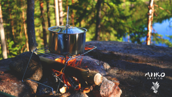 camping stove campground