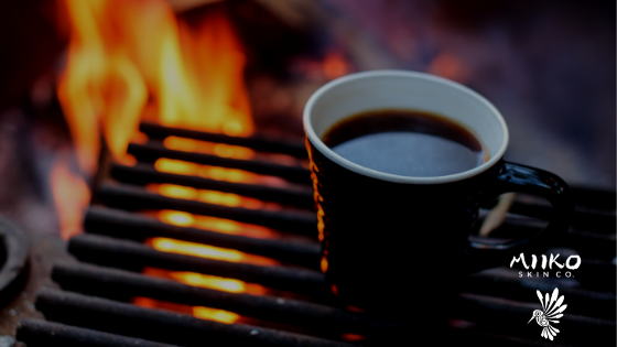 CAMPING FIRE coffee grill