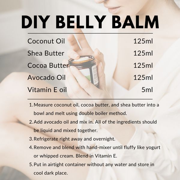 DIY Belly Balm Recipe