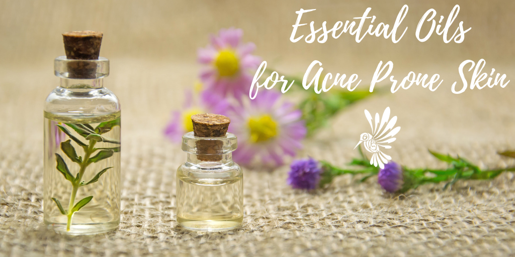 Essential oils for acne pront skin